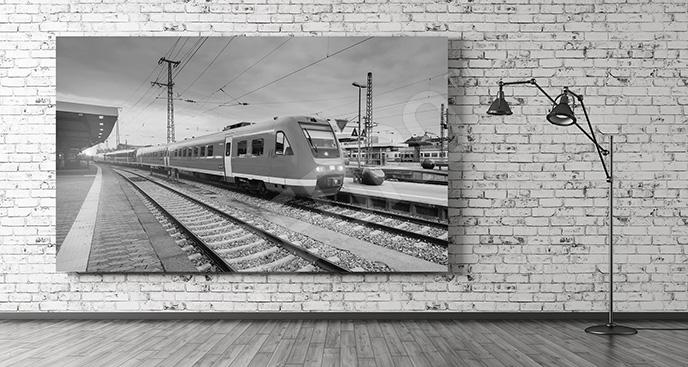Obraz nowoczesny pociąg