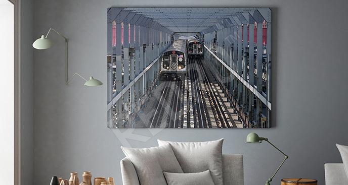 Obraz nowojorski dworzec