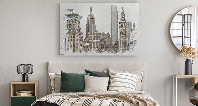 Obraz Nowy Jork do sypialni