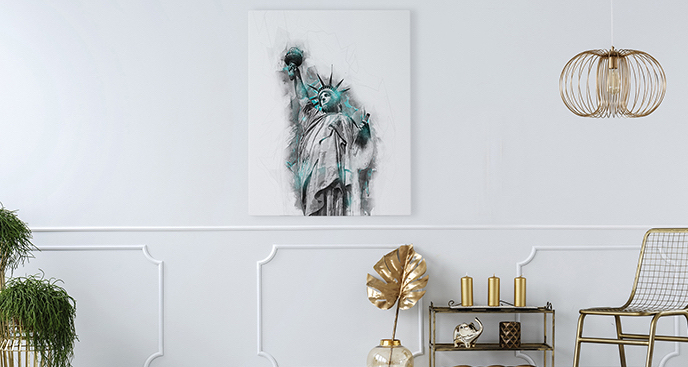 Obraz Nowy Jork: Statua Wolności