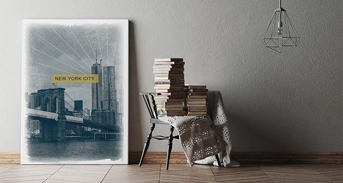 Obraz Nowy Jork vintage