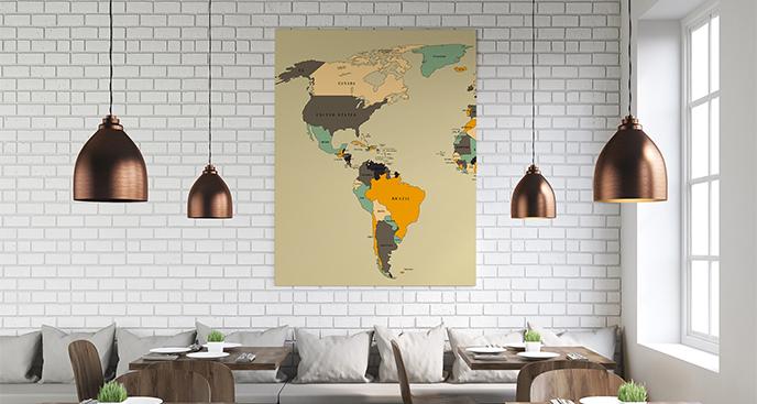 Obraz obu Ameryk