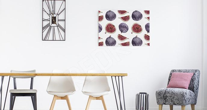 Obraz owoce figi