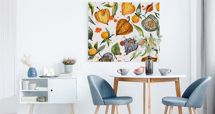 Obraz owoce jesieni