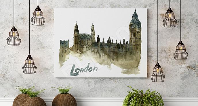 Obraz Pałac Westminsterski