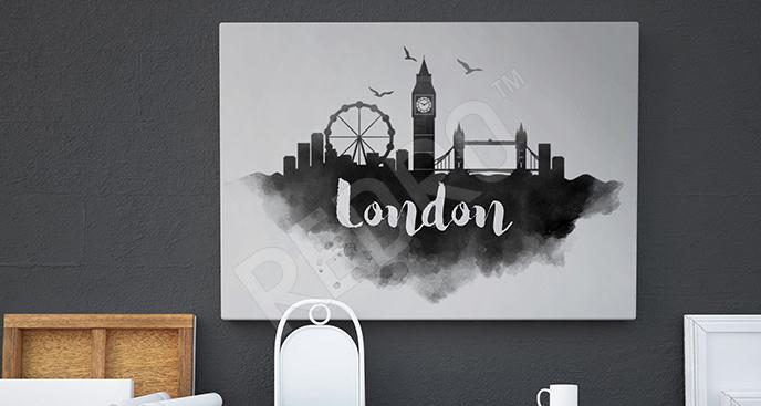 Obraz panorama Londynu