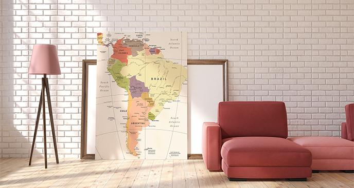 Obraz państwa Ameryki Południowej