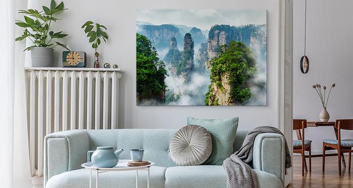Obraz park narodowy w Chinach