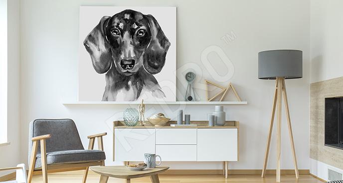 Obraz pies rasowy