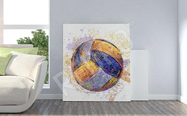 Obraz piłka do siatkówki