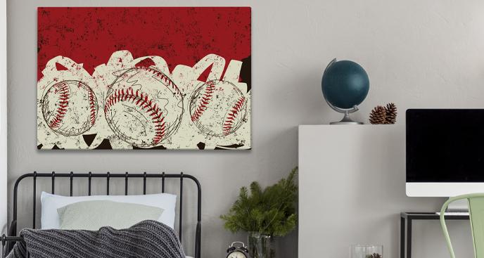 Obraz piłki baseballowe