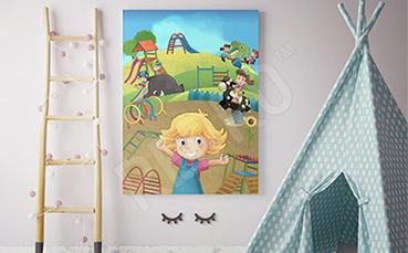 Obraz plac zabaw dla dzieci