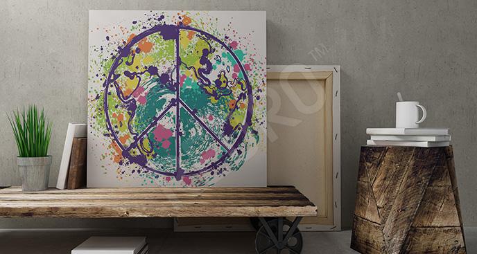 Obraz planeta do pokoju nastolatka