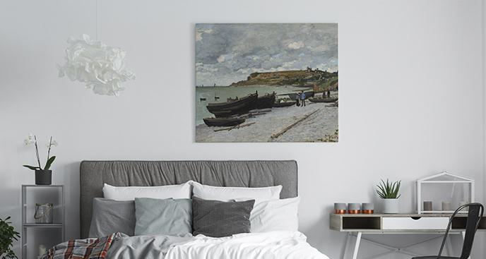 Obraz Plaża w Sainte-Adresse
