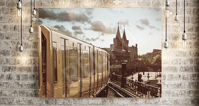 Obraz pociąg w Berlinie