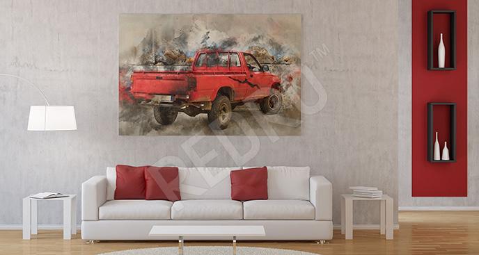 Obraz pojazd terenowy