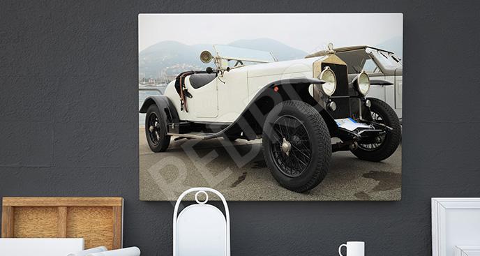 Obraz pojazd vintage