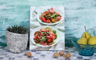 Obraz półmiski z sałatką