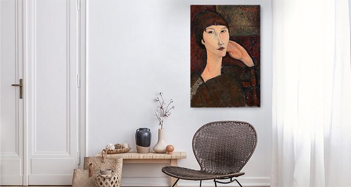 Obraz Portret Adrienne