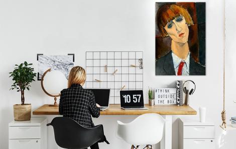 Obraz Portret Madame Kisling