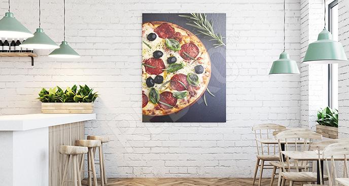 Obraz potrawy: włoska kuchnia