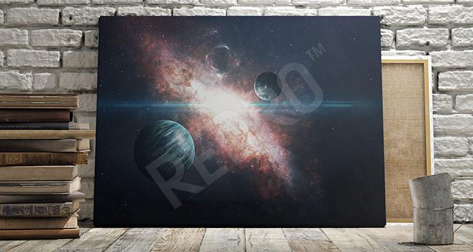 Obraz przestrzeń kosmiczna