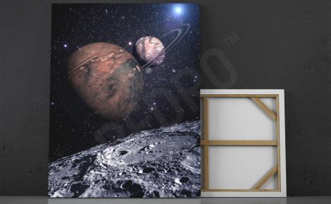 Obraz przestrzenny kosmos