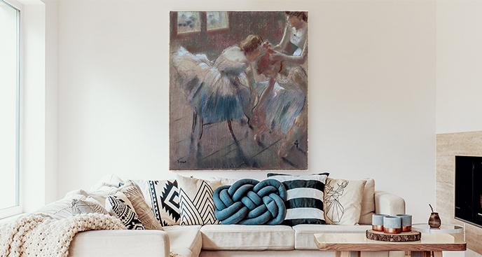 Obraz Przygotowania do baletu