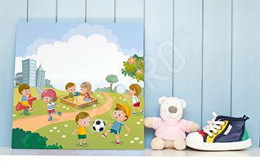 Obraz radosne dzieci