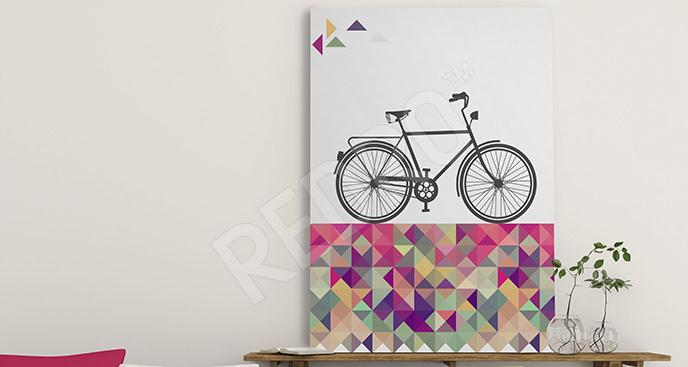 Obraz retro rower