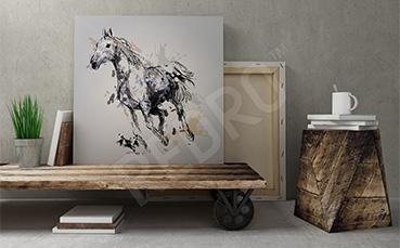 Obraz rysunek konia