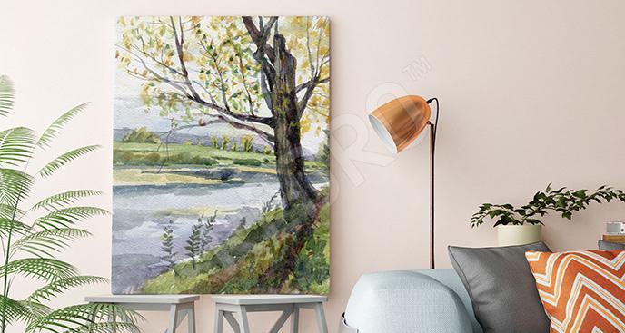 Obraz rzeka do salonu