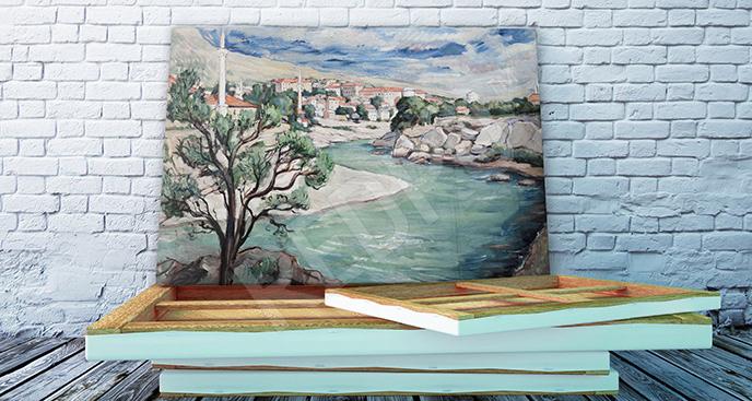 Obraz rzeka Neretwa