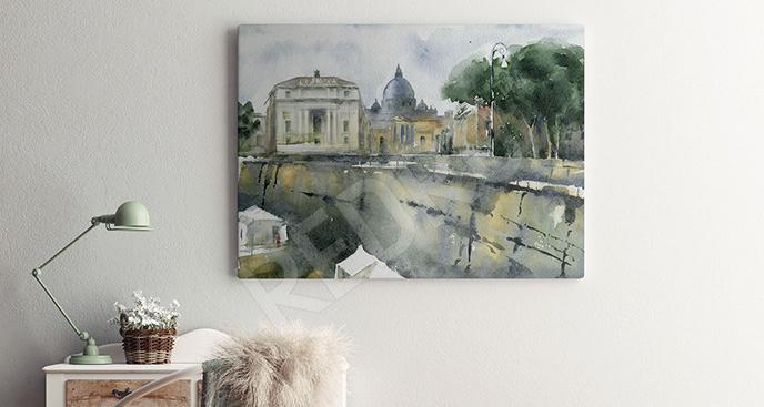 Obraz Rzym latem
