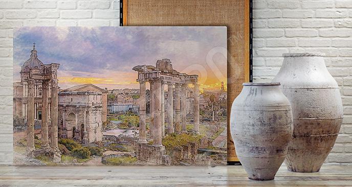 Obraz rzymskie inspiracje