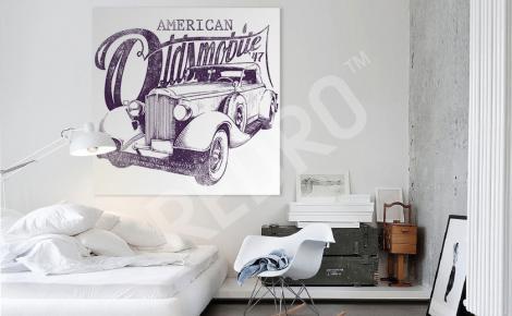 Obraz samochód retro