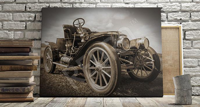 Obraz samochód vintage