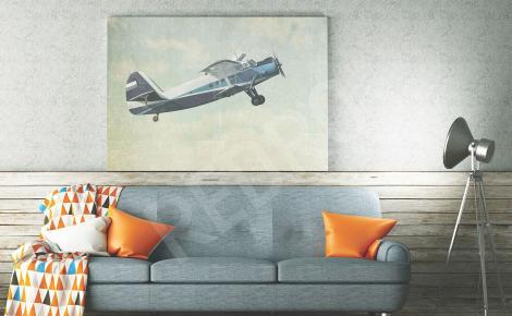 Obraz samolot retro