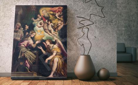 Obraz scena religijna