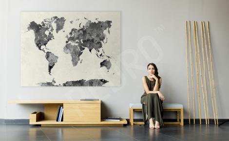 Obraz ścienna mapa świata