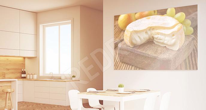 Obraz ser pleśniowy