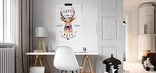 Obrazy w stylu skandynawskim