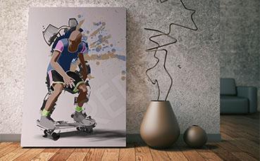 Obraz skateboard