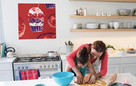 Obraz słodycze retro do kuchni