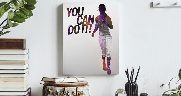 Obraz sport i bieganie