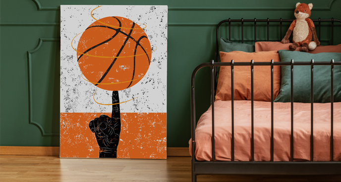 Obraz sport – koszykówka