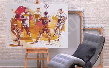 Obraz sport piłka nożna