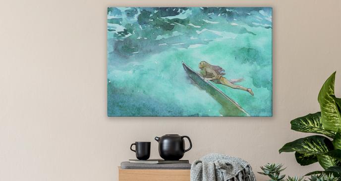Obraz sport - surfing