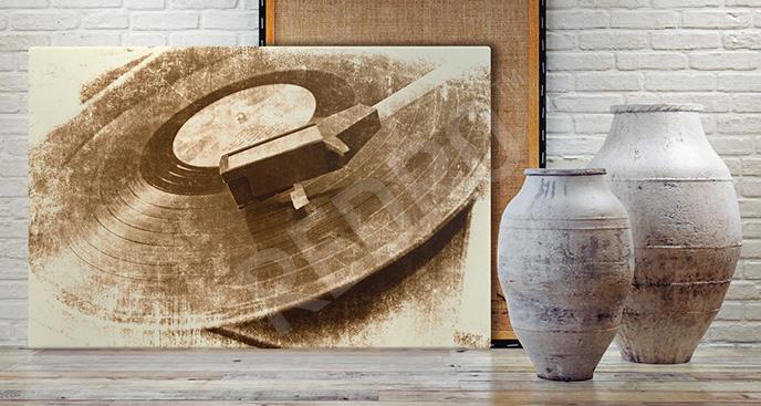 Obraz stara płyta winylowa