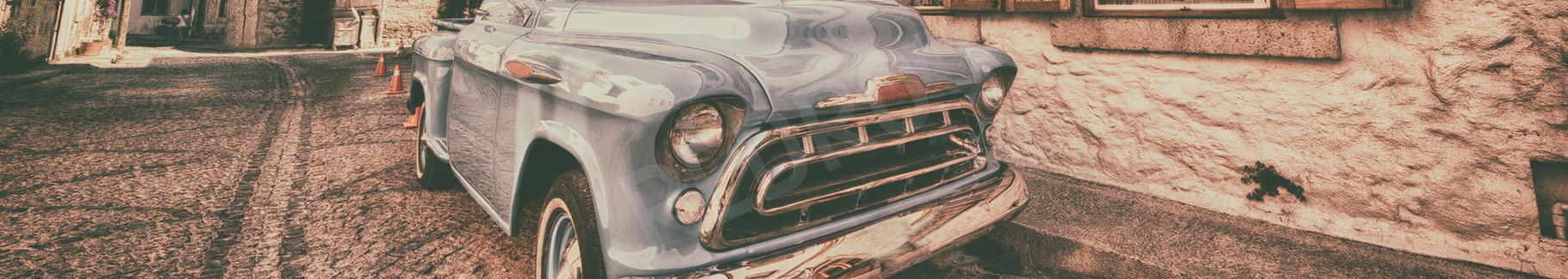 Obraz stary samochód vintage do salonu